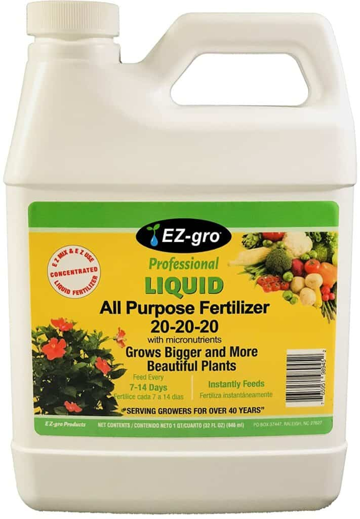 20 20 20 Fertilizer