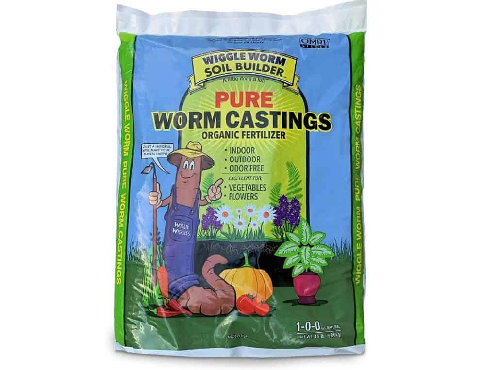 worm compost.